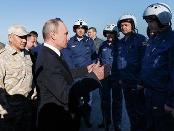 Из Сирии с победой! ФОТО