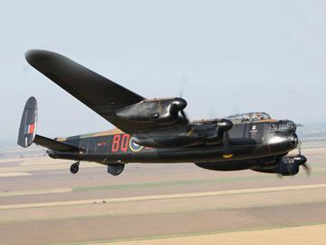 Легендарный бомбардировщик Avro Lancaster. ФОТО