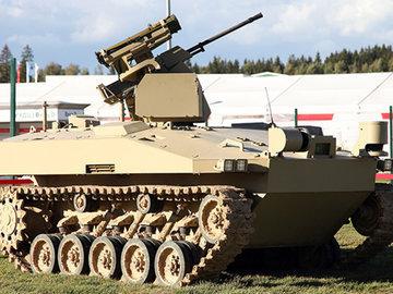 Российского боевого робота готовят для пустыни